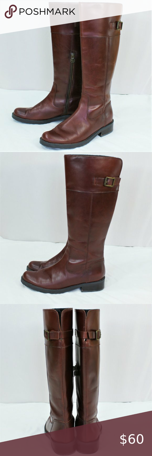 EUC Eddie Bauer leather riding boots