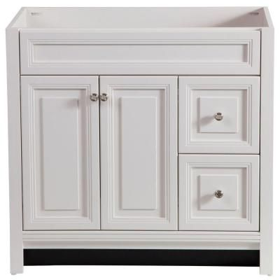 Home decorators collection brinkhill 36 in w x 34 in h x - Home depot bathroom vanities on sale ...