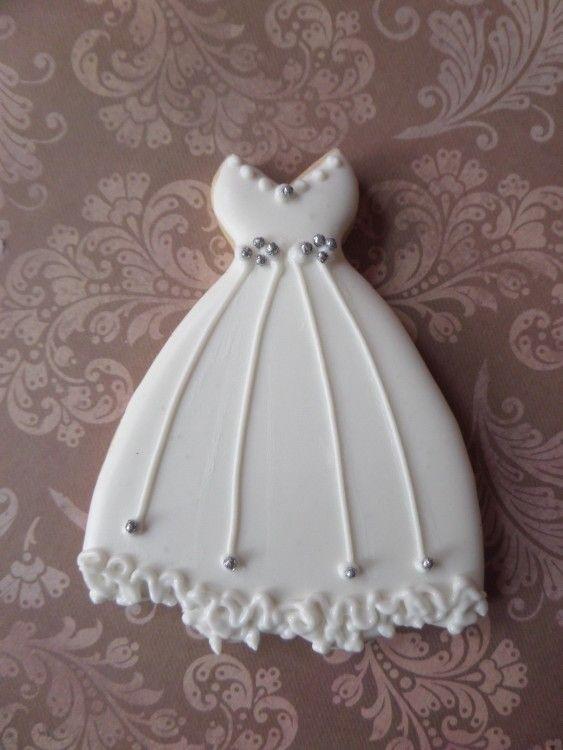 Vestido Novia | cookies | Pinterest