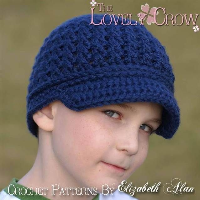 Free Crochet Newsboy Hat Pattern Bing Images Food Pinterest