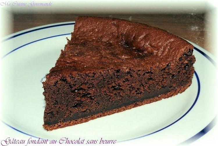 Fondant au chocolat sans beurre   Recette   Fondant ...