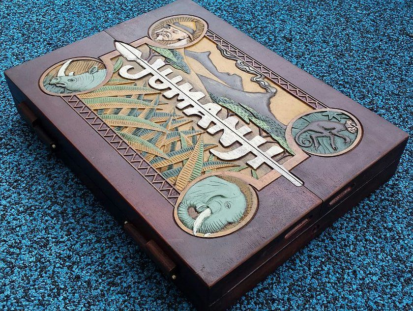 Most Accurate 11 Scale Wooden Jumanji Board Game prop
