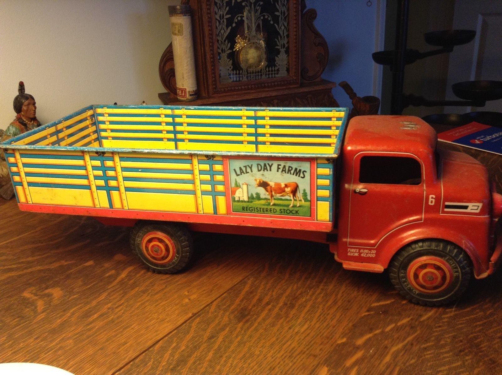 Antique Toy Metal Farm Truck | eBay | OLD TOYS | Pinterest ...