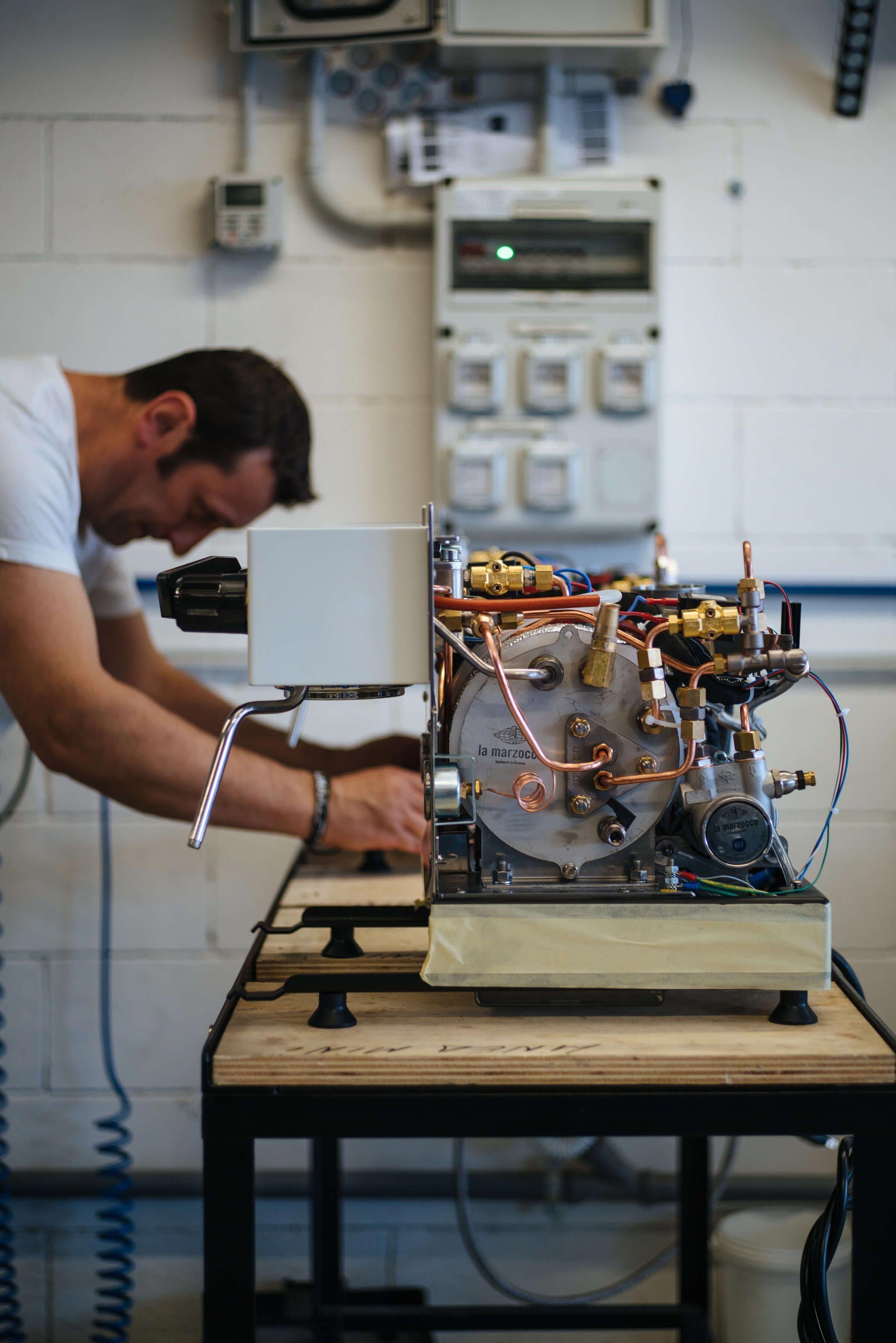Inside the La Marzocco Espresso Machine Factory, Florence