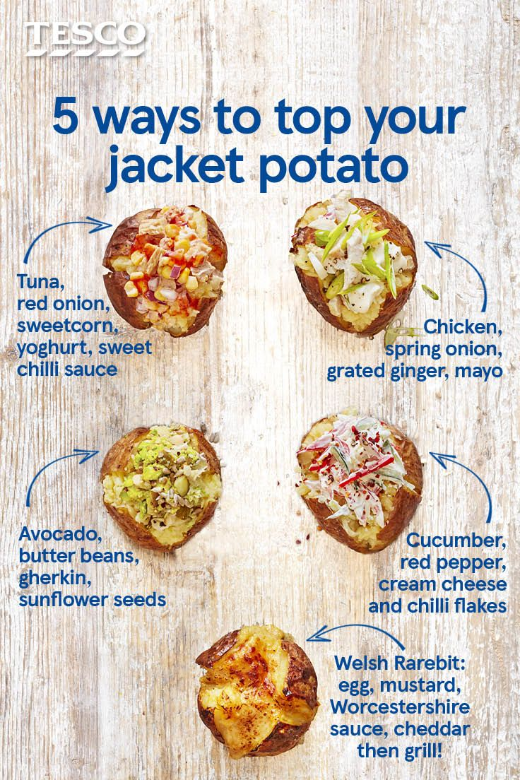Stuck For Jacket Potato Topping Ideas Go Beyond Beans And