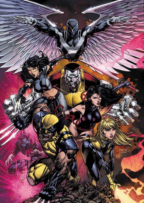 X Men By David Finch Marvel Comics Art X Men Superhero Comic