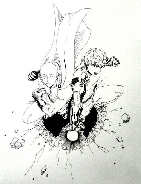 ワンパンマン scribble [1]