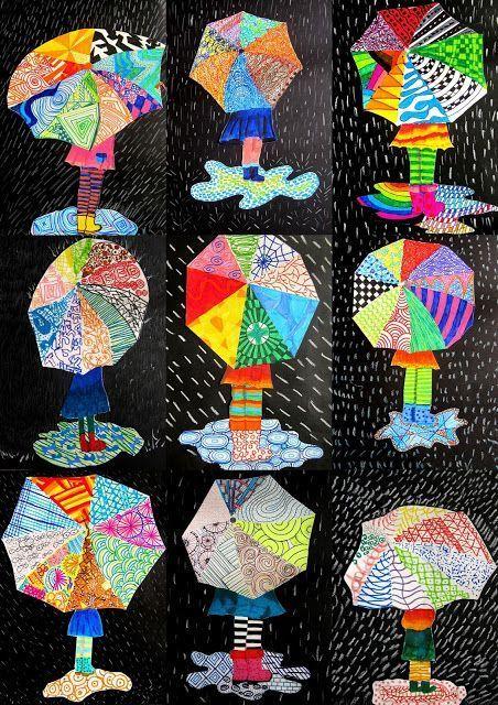 Photo of Texturen auf Regenschirm