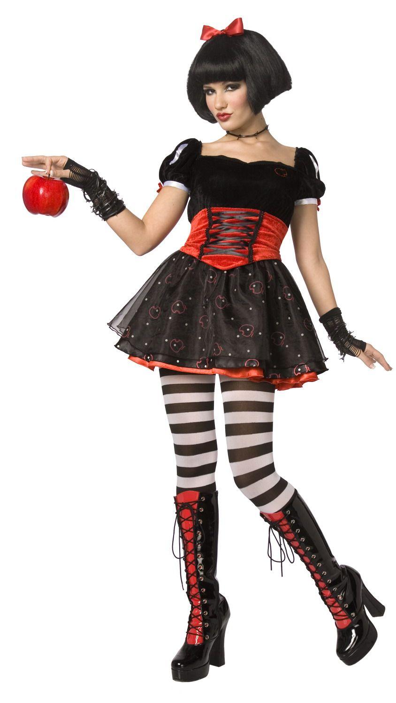 Disfraz de princesa envenenada para mujer, ideal para Halloween. Disponible en www.vegaoo.es