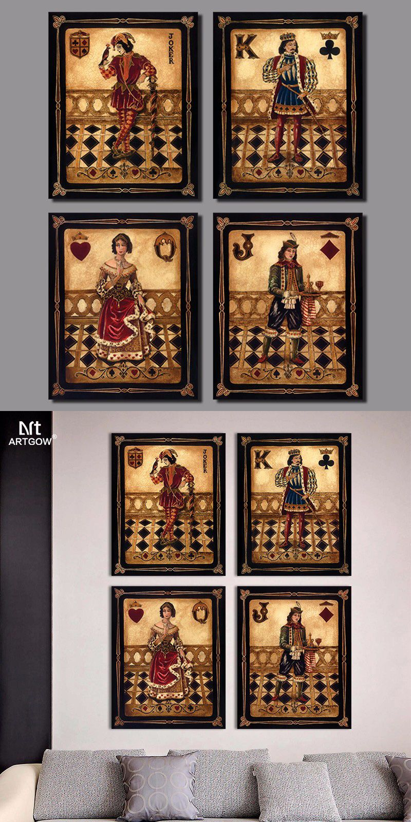 29+ Queen of hearts game room ideas