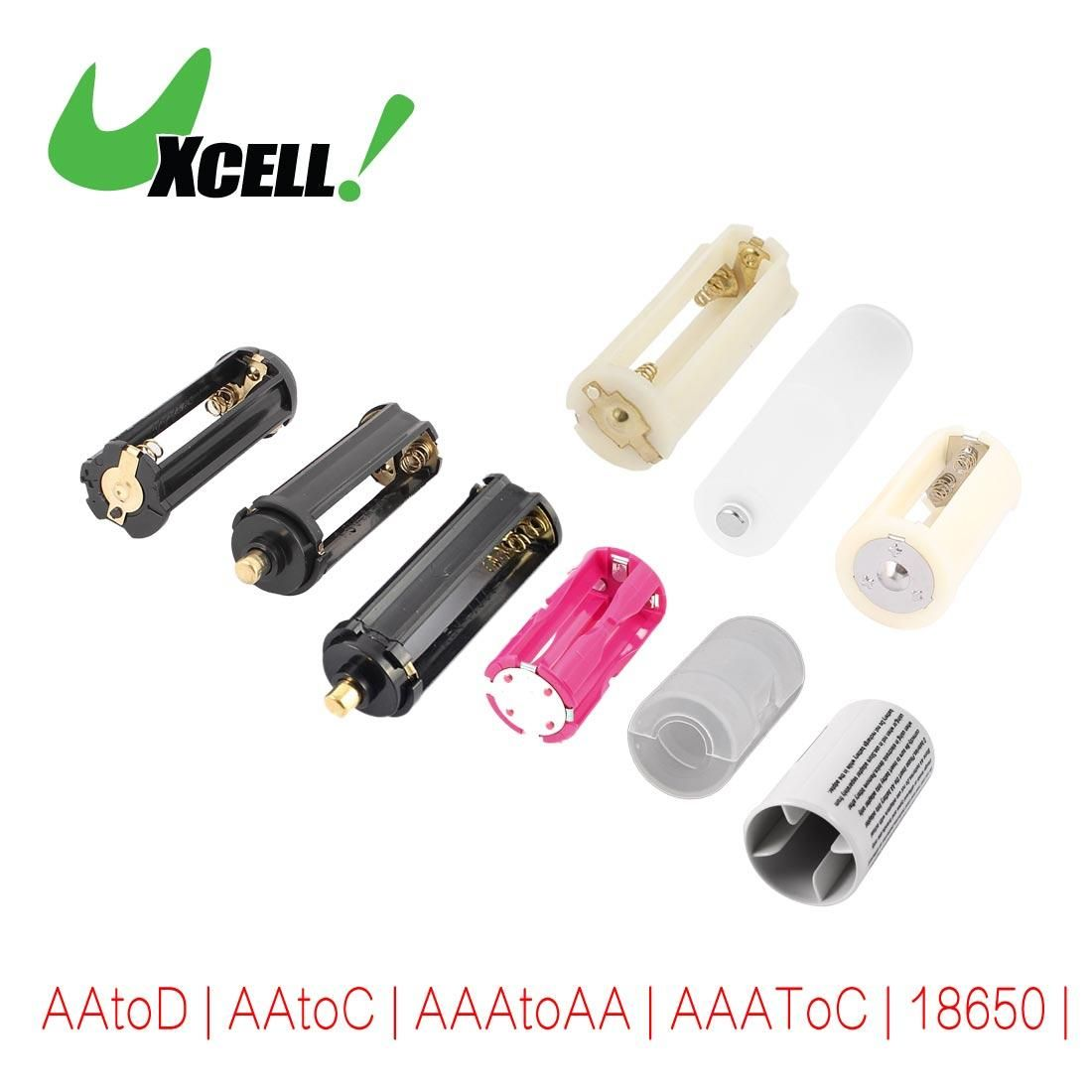 Visit To Buy Uxcell 3 Pcs Parallel Aa Aaa Battery Adapter Converter Case Holder For 18650 2xaatod 3xaaa 3x Battery Adapter Aaa Batteries Stuff To Buy