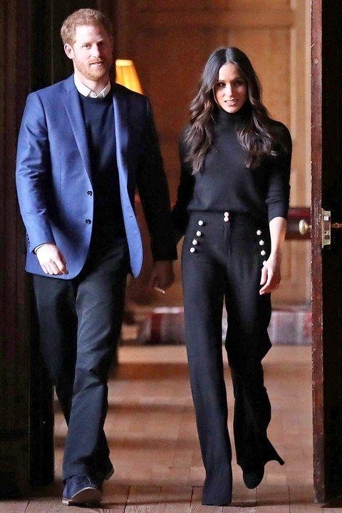 a3dcc2c1 Meghan Markle's Royal Engagement Style | Business Casual Outfit Ideas |  Fashion, Meghan markle style et Royal fashion