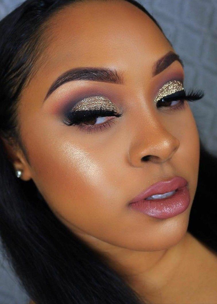 Pin By Tara On Shadowed Eyes And Glossy Lips Glam Makeup Makeup
