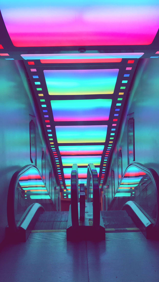 Grey Aesthetic Wallpaper Neon