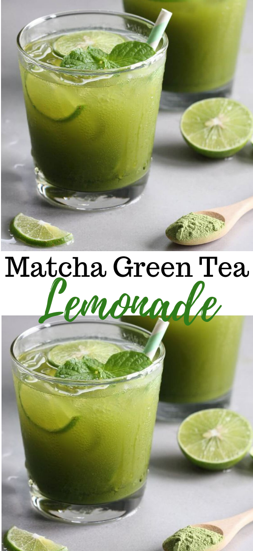 Photo of Matcha Green Tea Lemonade  #drink