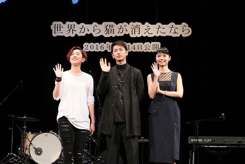 17歳新人 HARUHI 映画「せか猫」イベントで主題歌初披露|邦楽|ローチケHMVニュース