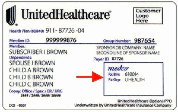 Fake Health Insurance Card Template Elegant Medical ...