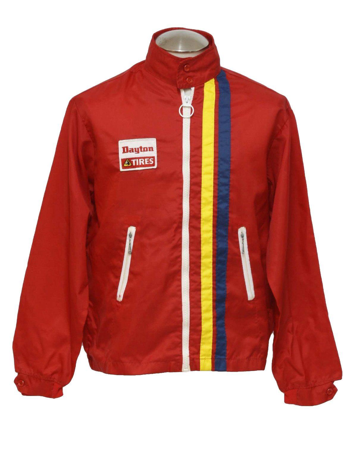 1970's Louisville Sportswear Mens Racing Jacket Jackets
