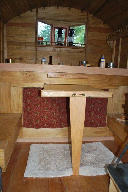 Building A Gypsy Wagon Tiny Cabin Trailer Schaferwagen Kuche