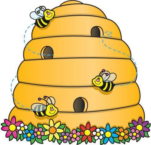 Bee Hive Clip Art Bing Colmenas De Abejas Dibujo De Abeja