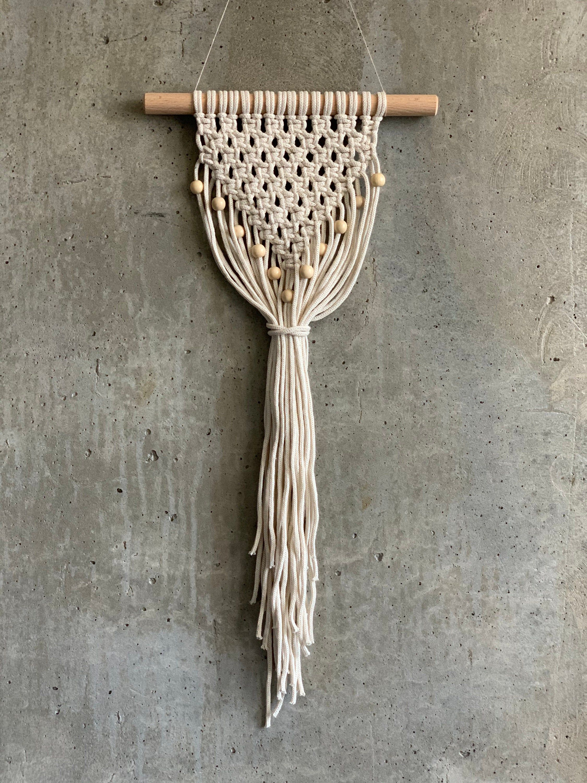 Diy Macrame Kit Beginner Level Macrame Wall Hanging Kit By Knot It Yourself Macrame Diy Macrame Wall Hanging Diy