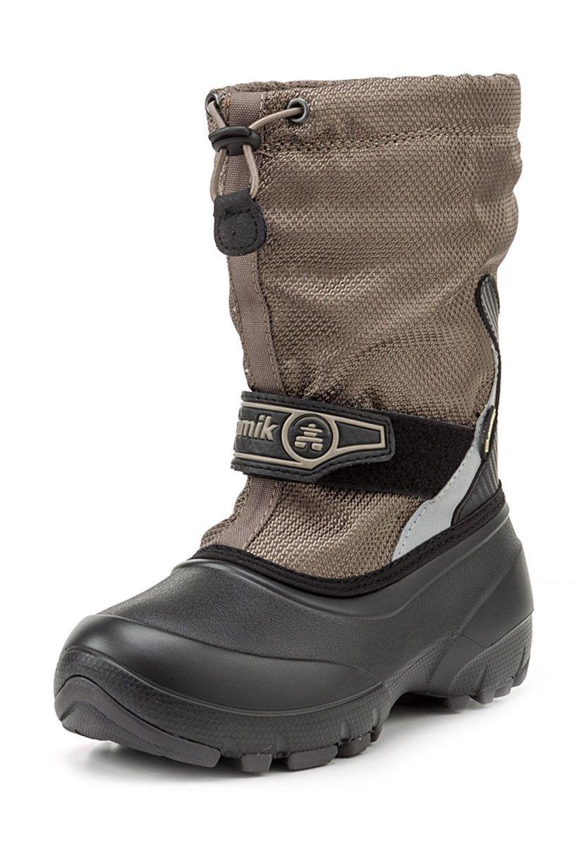 Kamik Snow Boots Pounce2G, GoreTex, gefüttert, beige grün