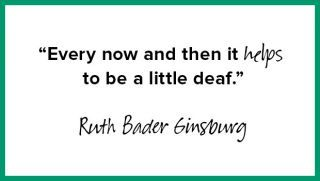 Always the truth from Ruth.