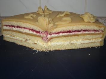 Marzipantorte Leckere Torte für den gehobeneren Anlaß - Rezept mit Bild