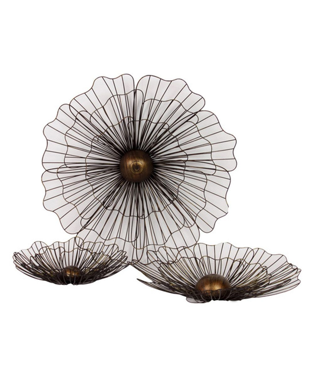 Look at this Metal Flower Set on #zulily today!