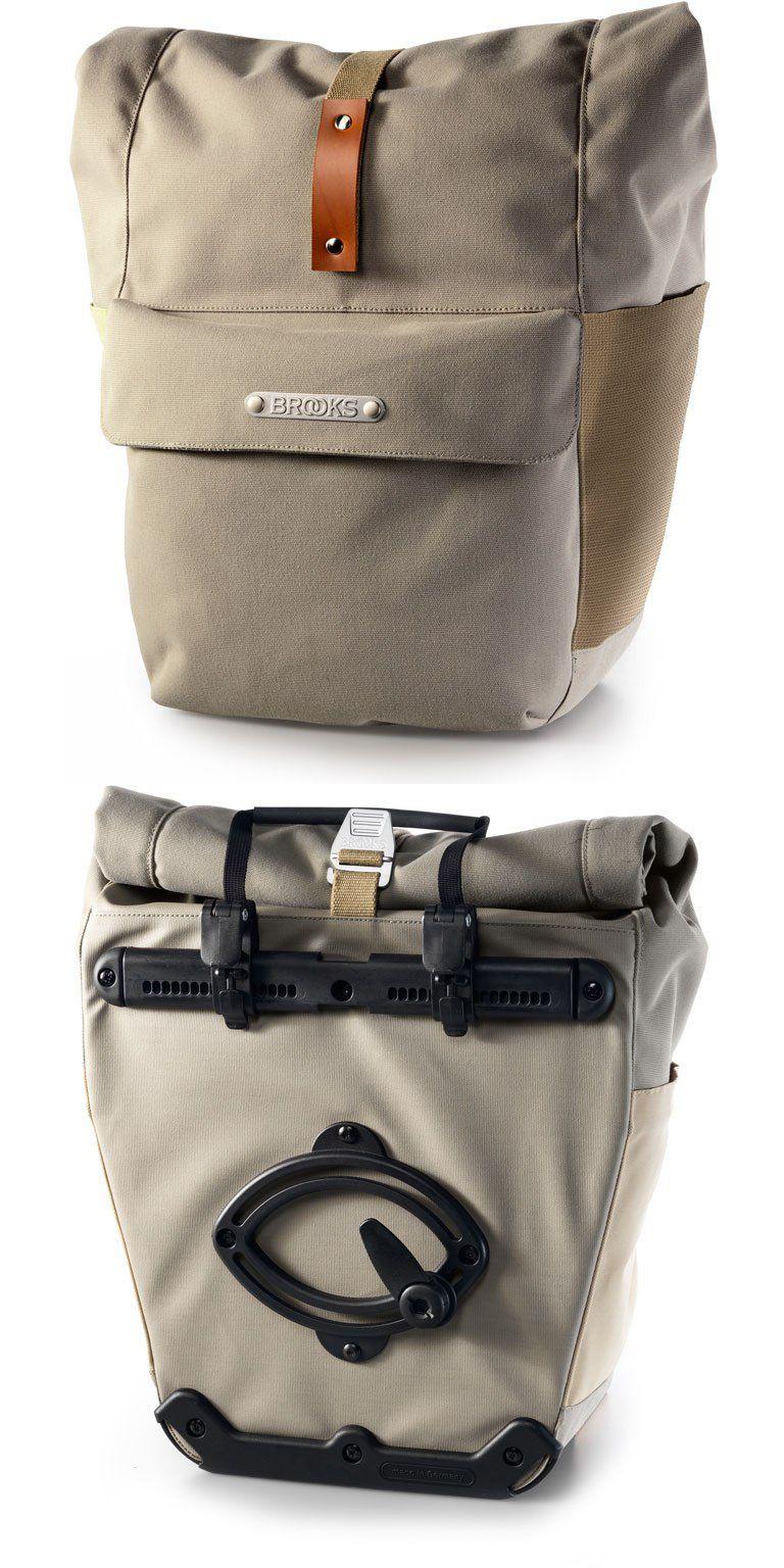 Brooks Suffolk Rear Pannier Fahrradtasche (Einzeltasche) - dove ... 10abb38fa