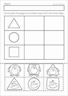 Winter Preschool No Prep Worksheets Activities With Images