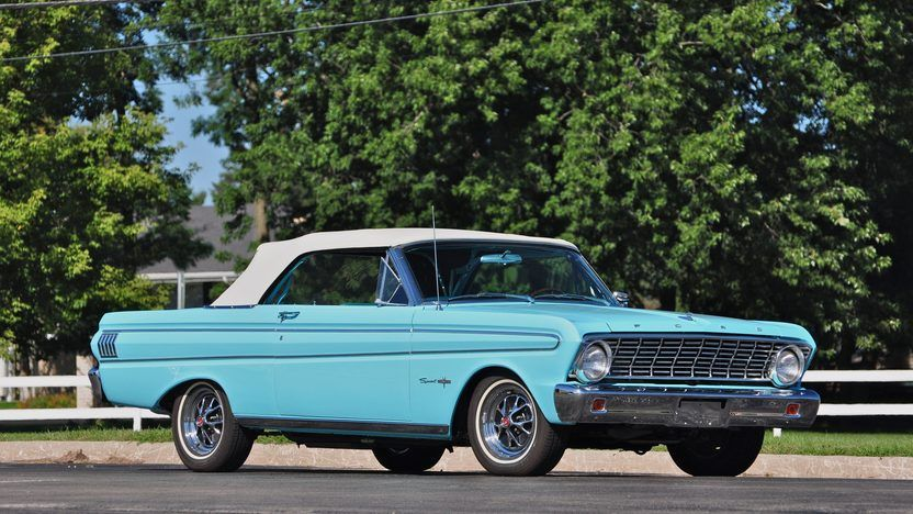 1964 Ford Falcon Sprint Convertible 292 Ci Automatic Presented As