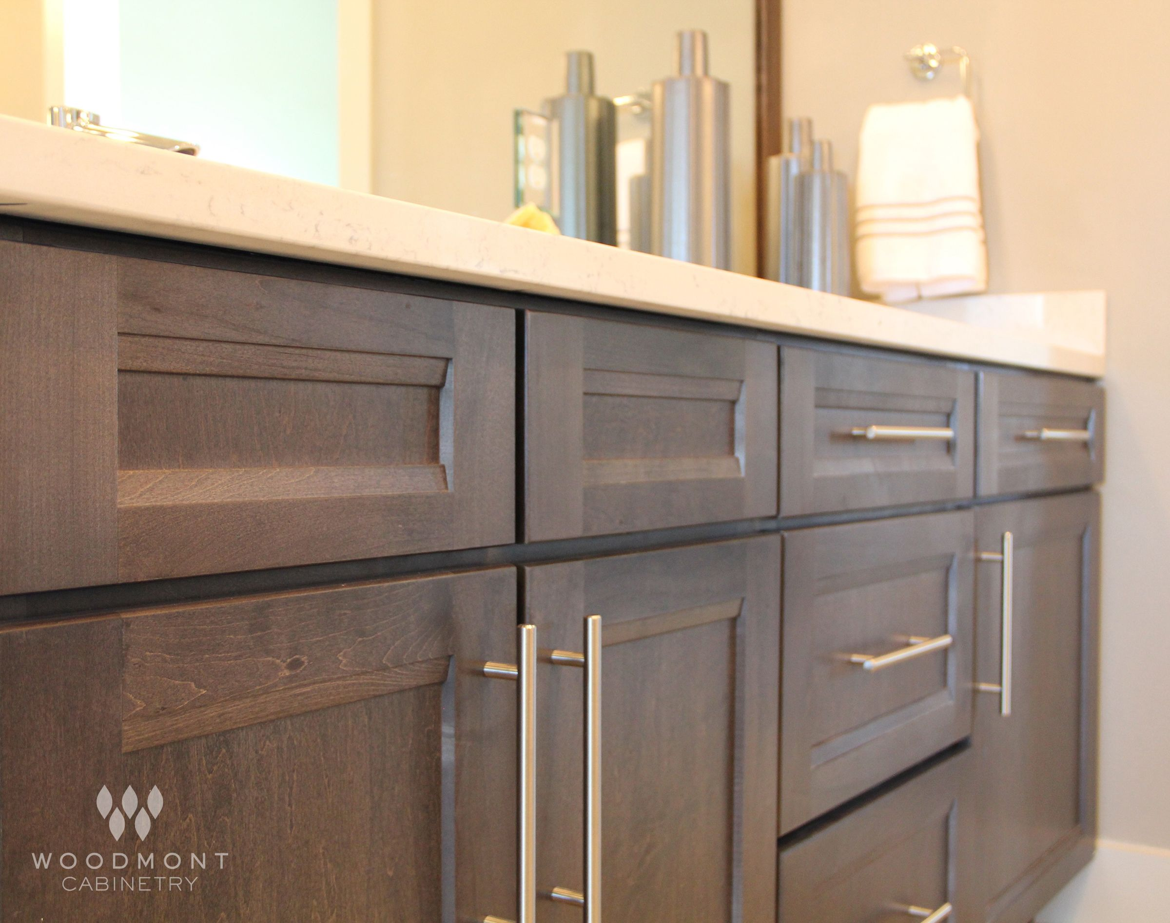 Beautiful Bathroom Cabinets By Woodmont Cabinetry Sedona Maple