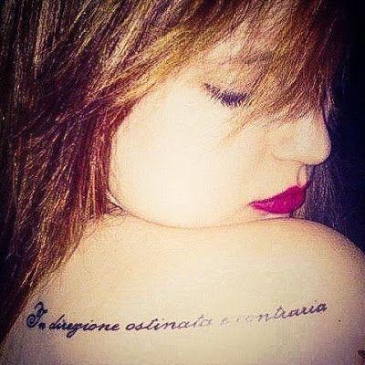 La mansarda dei ravatti: #tatuaggi: Non c'è l'uno senza il due...