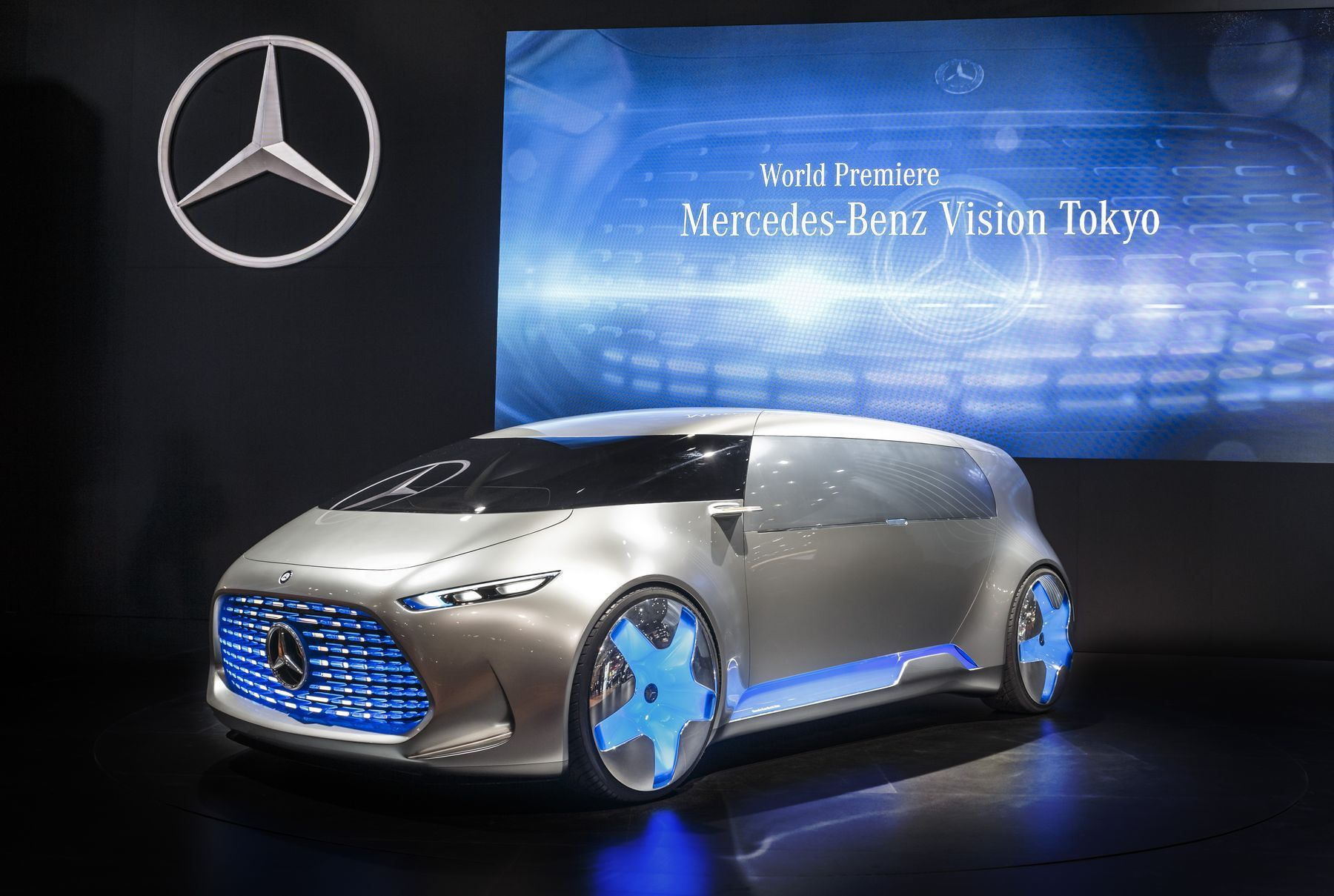 Mercedes Electric Car 2020 Images Tokyo motor show