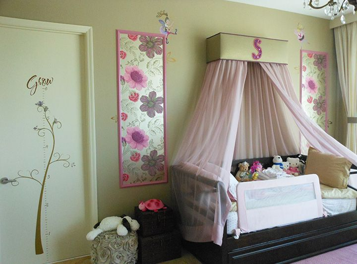 little girl bedroom ideas - whimsical bedroom for little girl