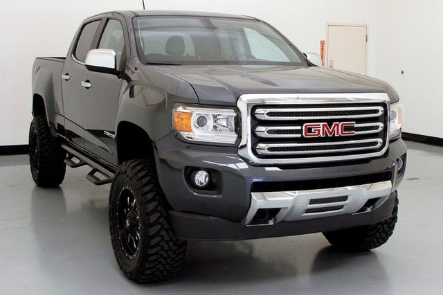 2015 Gmc Canyon 4wd Slt Bds Lift Fuel Wheels Leather Truck Crew