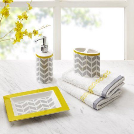Home Yellow Bathroom Accessories Yellow Bathroom Decor Yellow