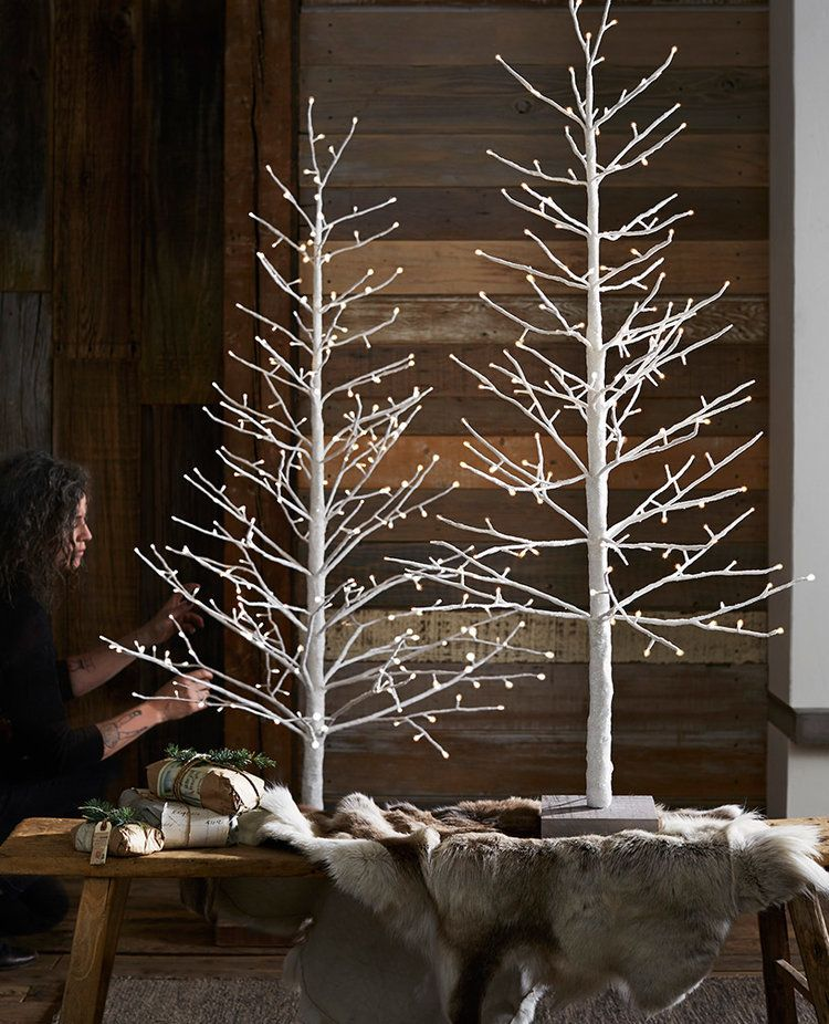 Holiday Roost In 2020 Christmas Tree Decorations Diy Diy Holiday Decor White Wire Christmas Lights