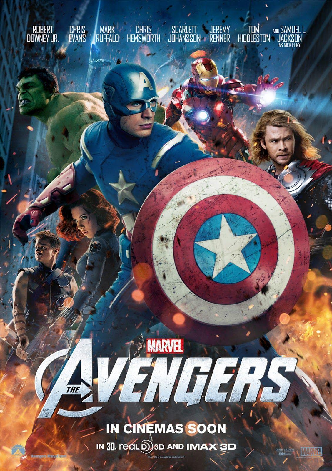 Los Vengadores 1 2012 Avengers Imagines Avengers Movies Avengers Movie Posters