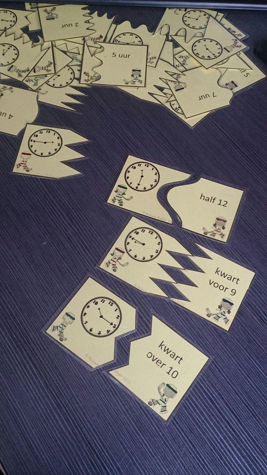 Kwartet Klokkijken Hele Uren Halve Uren En Kwartieren