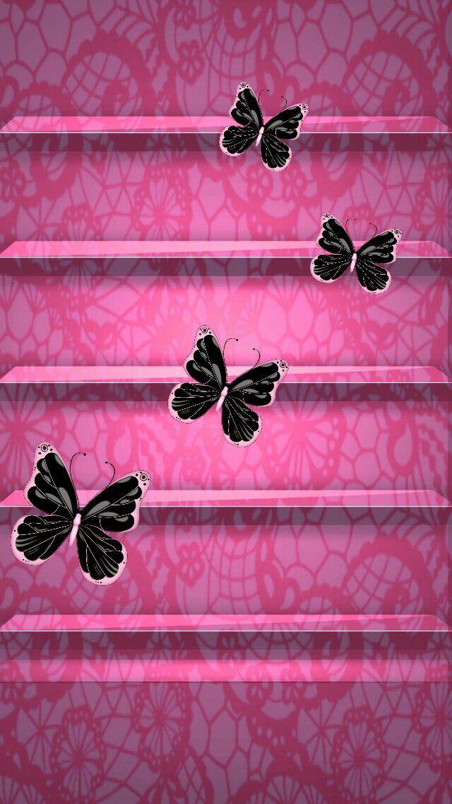 Butterflies Wallpaper Lock Screens In 2019 Butterfly