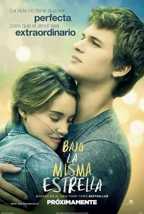 This Photo It S Really Heartwarming But It Have A Little Mistake Her Cheek The Fault In Our Stars Bajo La Misma Estrella Peliculas De Adolecentes