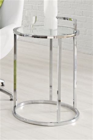 5 Stunning Side Tables. Side Tables. Cirque Chrome And Glass