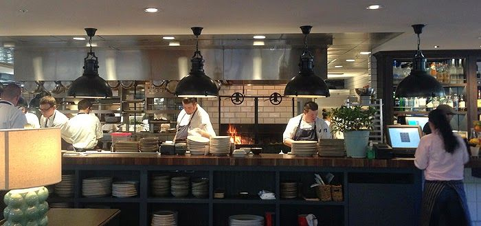 Restaurant Kitchen Grill open restaurant kitchens with wood fired grill and oven - google