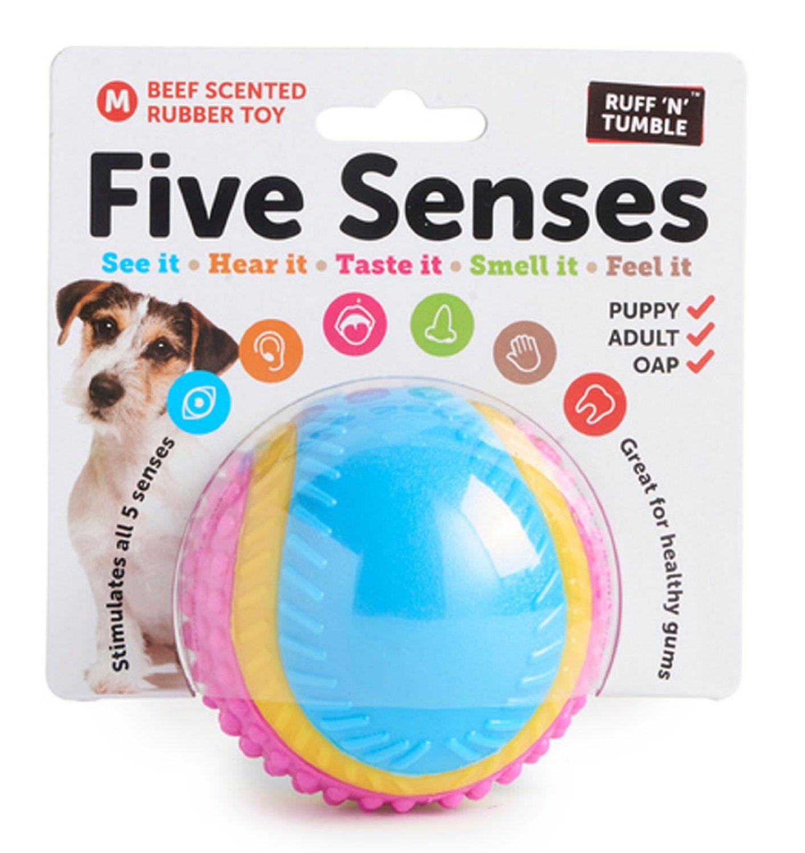 Ruff N Tumble Five Senses Dog Ball Dog Toy Ball Pet Supplies