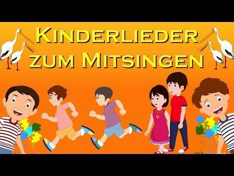 Hallo Hallo Schon Dass Du Da Bist Begrussungslied Kindergarten Kinderliedjes In Het Duits Youtube Kinder Lied Kinderlieder Kinderlieder Deutsch