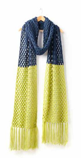 Free Granny Takes A Dip Crochet Scarf Crochet Pattern Download The