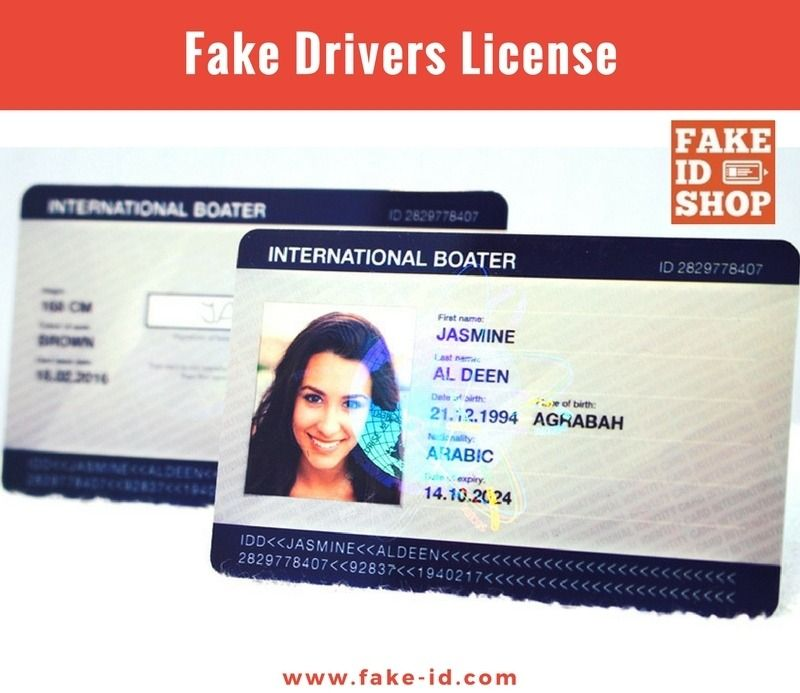 Fake-ID is the world's largest online shop for Fake ID cards
