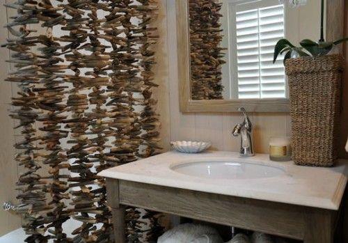 deko ideen fantastische triebholz vorh nge sp lbecken wohnung pinterest sp lbecken. Black Bedroom Furniture Sets. Home Design Ideas